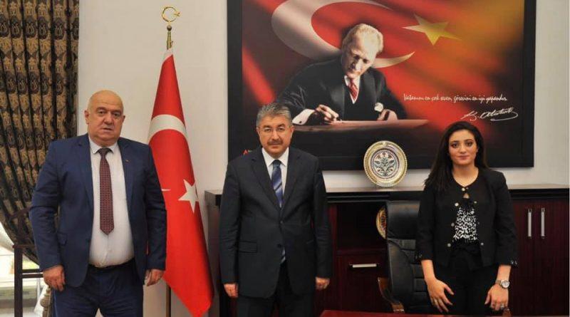 Nova Medya Grup, Osmaniye Valisi olarak atanan Dr. Erdinç YILMAZ Beyefendiyi makamında ziyaret etti. / Ebru BEKEN DİNÇEL