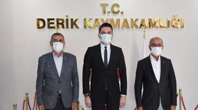 MHP DERİK İLÇE BAŞKANINDAN KAYMAKAM ÇAKIR'A ZİYARET