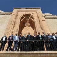 Adalet Bakanı Abdulhamit Gül, Kasımiye İslam Bilim Sanat Merkezimizde