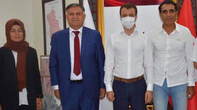 METİNA DERNEĞİNDEN BAŞKAN AYTEMÜR'E ZİYARET.