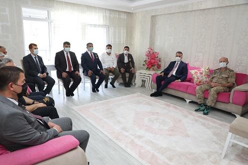 Valimiz Oktay Çağatay, 15 Temmuz Gazilerini Ziyaret Etti