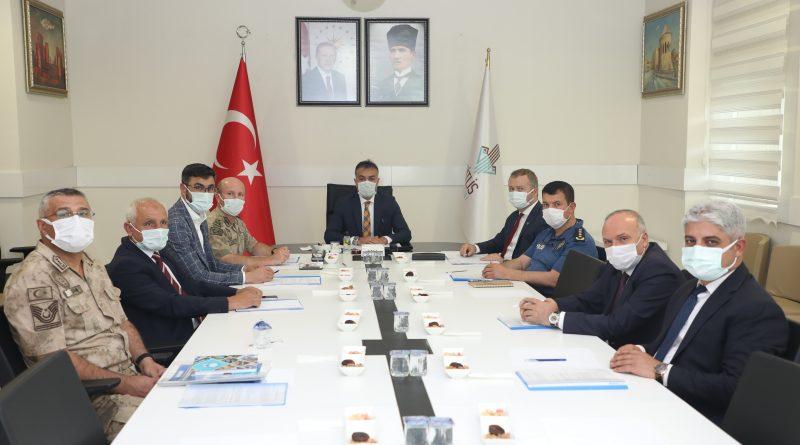 İl Trafik Komisyonu Vali Oktay Çağatay'ın Başkanlığında Bir Araya Geldi