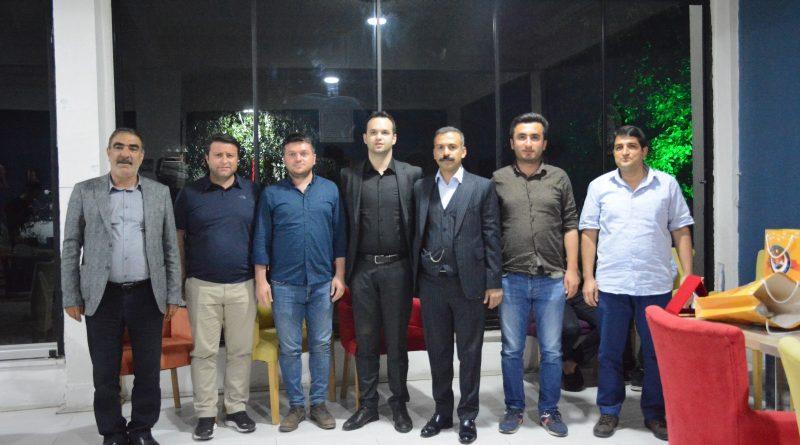 Tayini Çıkan Cumhuriyet Savcısı Ozan ÇAYIR İçin Veda Yemeği Düzenlendi