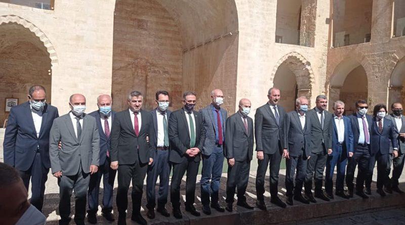 Adalet Bakanımız Abdülhamit GÜL Mardin'e Geldi.